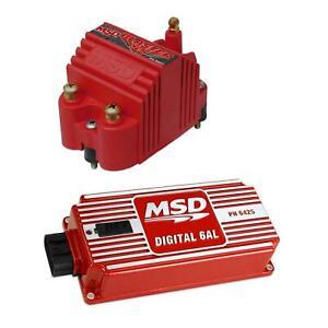 MSD 6425 6AL Digital Ignition Control Box & Blaster SS Coil Kit