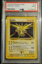 PSA 9 Zapdos Holo Base Set Pokemon Card 1999