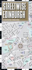 Streetwise Edinburgh City Laminated Map - FREE SHIPPING - NEW
