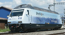 "Roco HO 73269  DIGITAL SOUND  - Elektrolok Re 465 016 ""Stockhorn"", BLS, NEUHEIT"