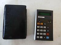 Vintage Adler 80C EC21 calculator Taschenrechner 70er 80er Digital GC-63