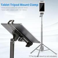 Universal 1/4'' Thread Tripod Mount Holder Stand Bracket Adapter For iPad 2/3/4