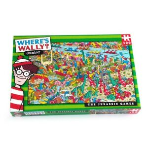 WHERE'S WALLY DINOSSAURS JURASSIC 100 - 250 PIECES PUZZLE Sea Town Kids