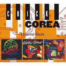 CHICK COREA - 3 ESSENTIAL ALBUMS  3 CD NEU