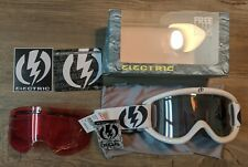 Electric EG.5 Snow Goggles BRAND NEW WITH TAGS. Extra Lens. Snowboard. Ski