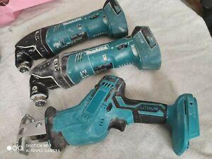 Makita DTM50 18V Li-Ion LXT Cordless Multi-Tool (2) + Cordless Reciprocating saw