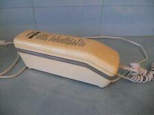 VINTAGE AUDIOLINE 4 PUSH BUTTON TWO-PIECE SLIMLINE TELEPHONE