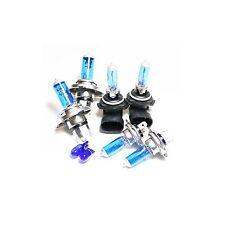 H7 H4 HB4 501 100w Super White Xenon HID High/Low/Fog/Side Light Bulbs Set