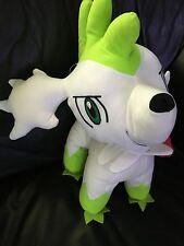 "Pokemon Plush Shaymin Sky Forme Big 17"" Toy Factory doll figure stuffed Huge"