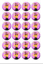 24 x Emma Wiggle Edible Image Cupcake Toppers Pre-Cut