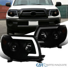Switchback Sequential LED For 05-11 Toyota Tacoma Smoke Projector Headlights 2PC
