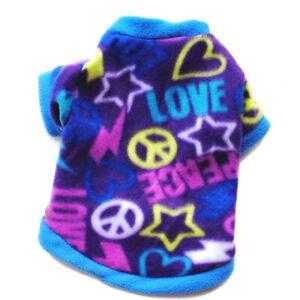 Pet Dog Cat Vest Sweater Pet Supplies Thicker Warmth Fleece Dog T-shirt XS-3XL