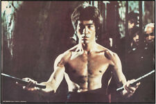 Bruce Lee in Enter the Dragon Original Vintage Personality Poster