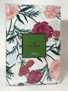 """Kate Spade New York - Blossom Tablecloth - Floral - 70"""" Round - NEW"""