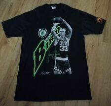 Boston Celtics Larry Bird 1989 Original Starter T-Shirt men's size-Large 42-44