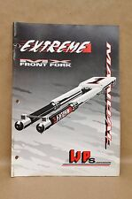 WP Suspension MX Front Fork Extreme Shock Absorber Service Repair Set Up Manual