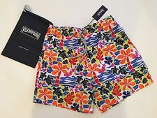 New w Tags & Bag Authentic Vilebrequin Moorea Multicolor Swim Trunks - Men XL