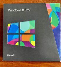 Microsoft Windows 8 Professional 64 & 32 Bit Retail Version With Product Key