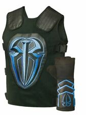 Roman Reigns Colored Wrestling Vest with Glove Costume