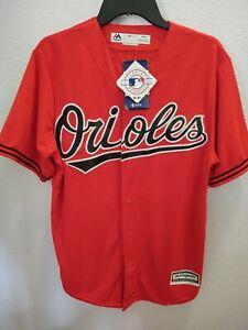 NWT Majestic Cool Base MLB Baltimore Orioles Jersey, Men's medium