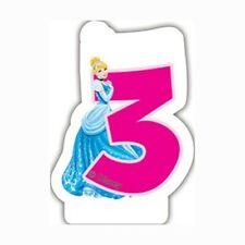 Disney Princess Birthday Candle No 3