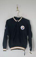 Pittsburgh Steelers Youth Med Jacket Starter ProLine Vintage 90's Pullover A38