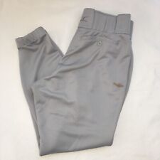 Mizuno Softball Pants Womens sz Small Gray Belt Loops