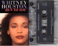 Whitney Houston Run To You 1992 Cassette Tape Single Pop Dance Rock