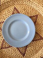 Vintage Woods Ware Iris design bleu rétro côté/Petit Déjeuner Plaque 17.3 cm