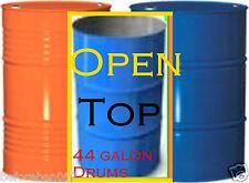44Gal (210 Lt)Steel Drum,Bin,Barrells @ $14 each $140 For 10 Drums,Bulk Listing