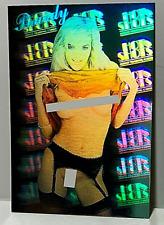 """Hot Shot """"Brandy"""" Hologram Adult Trading Card Promo (1992 Hot Shot) 2 card lot"""
