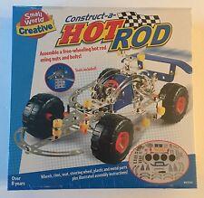 Construct-A-Hot Rod Car Construction Set - Small World Creative - NEW SEALED