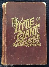 The Little Giant Cyclopedia and Treasury of Ready Reference K L Armstrong ©1889