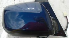 2001 TOYOTA AVENSIS VERSO O/S/F DRIVERS ELECTRIC WING MIRROR BLUE