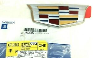2015-2019 Cadillac CTS Sedan rear trunk hatch Crest Emblem new OEM 23236084