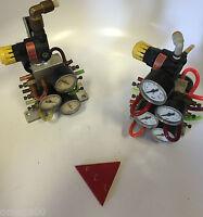 "Speedaire 6ZC33A Pneumatic Regulator w/Gauge 1/8"" NPT 250PSI + 6 flow controls"