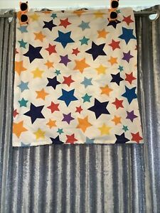 Small Dog Pillow Cover Only Stary Colourful White 60x65cm