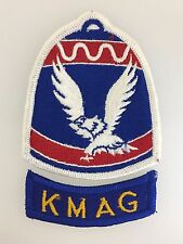 GENUINE U.S. Army Military Command Korea embroidered cloth patch with tab