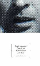 Contemporary American Monologues for Men  Paperback