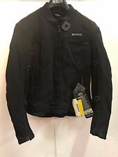 NEW FIELDSHEER CORSAIR BLACK SIZE 10 TEXTILE JACKET