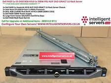Dell PowerEdge R420 1x E5-2450 8GB H310 1x 500W PSU 4LFF DVD iDRAC7 1U Server