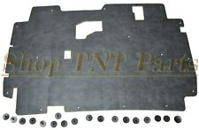 "1984-96 Jeep Cherokee Hood Insulation Pad w/ Clips 1/2"" Low Profile"