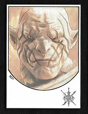 The Hobbit The Battle of the Five Armies 1/1 Fine Art Sketch Azog by Sean Pence