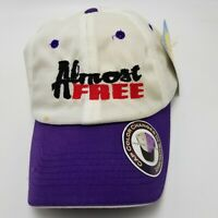 Almost Free Solar Active TC & B Hat Cap White Womens Strapback New With Tags N1