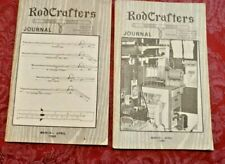 Rod Crafters Journal Magazine Vintage 1980's