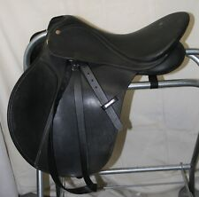 "USED Wintec Bates All Purpose English Saddle with Wintec leathers - 16 1/2"" seat"
