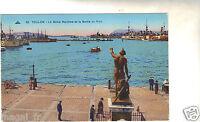 83 - cpa - TOULON - Le Génie Maritime et la sortie du port (H6740)
