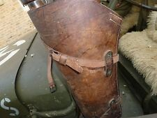 """US Leather Scabbard Utility Strap EQUIPMENT  22"""" long width 0,71"""" Willys MB GPW"""