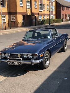1974 TRIUMPH STAG MANUAL WITH OVERDRIVE