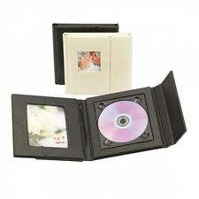 Kenro Profesional Cd/dvd Folio con 1 Bandeja 1 Foto-Negro, Londres